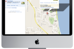 Getting online.  1 Page Website and Google Places