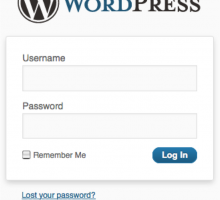 How to log in to your WordPress site